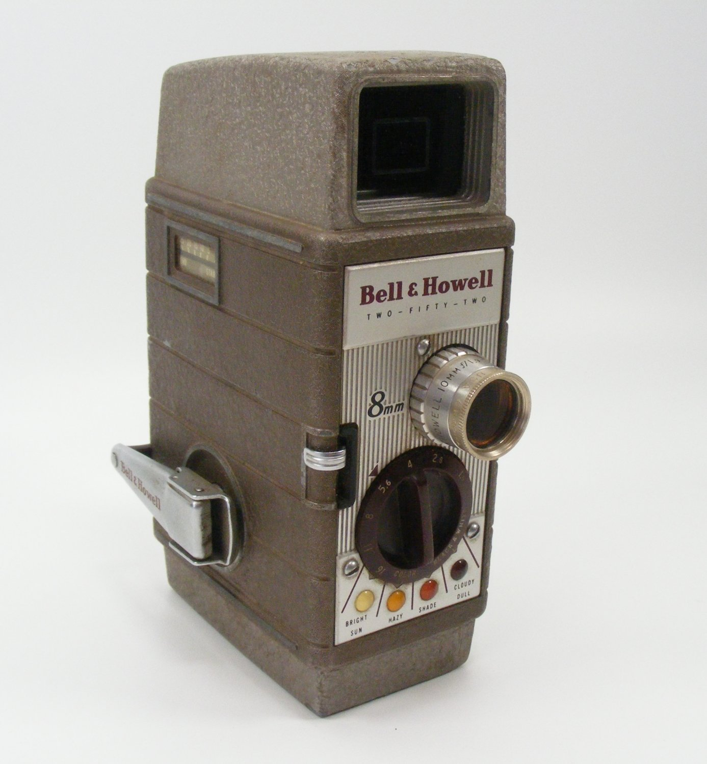 Bell & Howell Model Two Fifty Two Film Movie Camera 8mm ,1960's