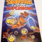 Simpsons Comics Supernova & Clubhouse by Matt Groening (2 comics)