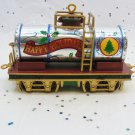 """Vintage Carlton Cards Christmas Express 1998 """"Tanker Train Car"""" Ornament, 3rd In Series"""