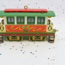 Vintage Carlton Cards Wonderland Express Train 1999 Passenger Car  Ornament 4th in Series