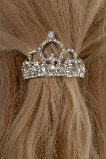 Her Majesty Rhinestone Ponytail Holder