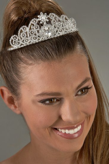 Jeweled Star Rhinestone Tiara