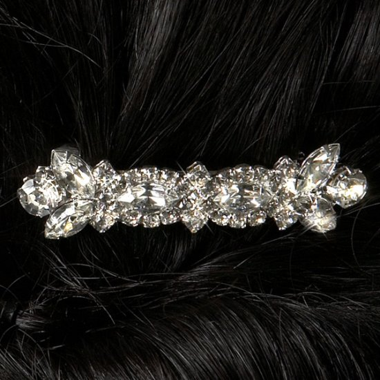 Fancy Rhinestone Barrette