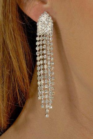 Dazzle Rhinestone Earrings