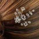 Floral Bouquet Rhinestone Hair Pin