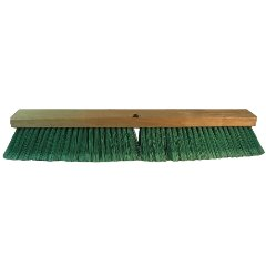 PROLINE BRUSH - Double Green PET Push Broom 18 in.