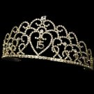 Gold Quinceanera, Mis Quince Anos, Sweet 15 Tiara