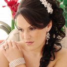 Couture Crystal Floral Wedding Comb