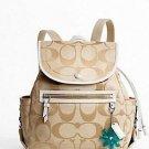 Coach Signature Backpack Bag