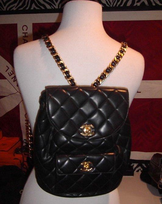 Chanel vintage collector's bag backpack shoulder bag