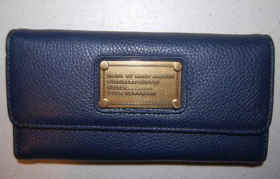 Marc By Marc Jacobs Wallet Dark Blue