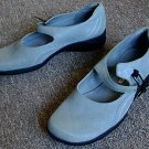 Womens Nine West Cloud 9 Baby-Blue Suede Shoes Size 7.5