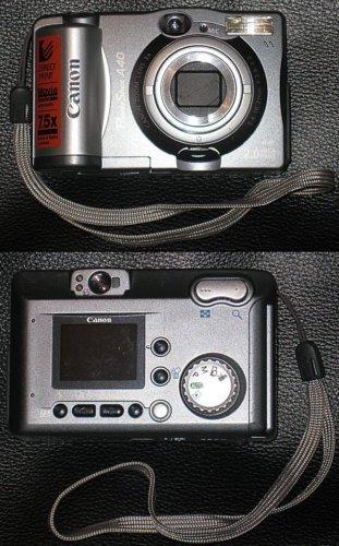 Canon PowerShot A40 Digital Camera 2.0 Megapixel