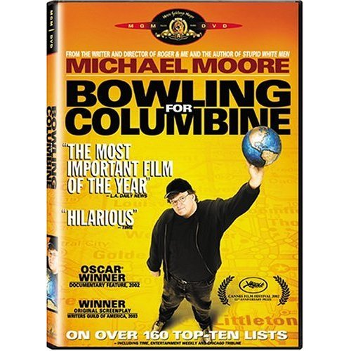 michael moores provoking documentary of bowling for columbine Michael moore sounded tired and not just in the way that we all sound tired in stores (or amazon warehouses) across the country, a deluxe new edition of moore's oscar-winning 2002 documentary bowling for columbine went on sale from the criterion.