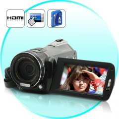 1080P HD Camcorder (Touchscreen, 12 x Optical Zoom)