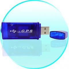 GPS Receiver USB Adapter for Computers (Netbook, Laptop, UMPC)