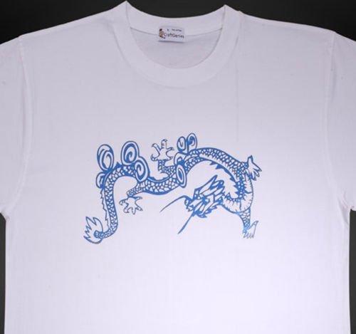 Dragon Tee Shirt Animal Tee for Men - New, Original  (Men's Medium)