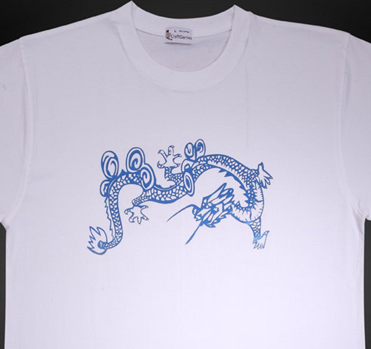 Dragon Tee Shirt Animal Tee for Men - New, Original  (Men's Large)