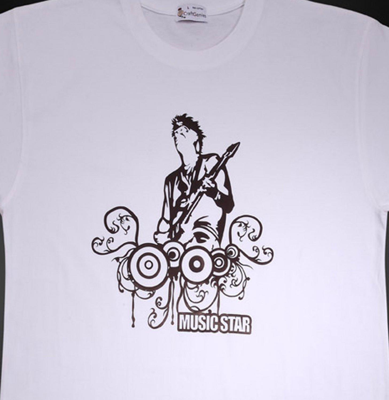 Music T Shirts for Men Music Fans, New Original Package  (Men's XL)