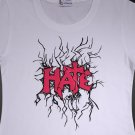 "Letter ""HATE"" T-Shirt Design for Women - Original Pack   (Women's Large)"