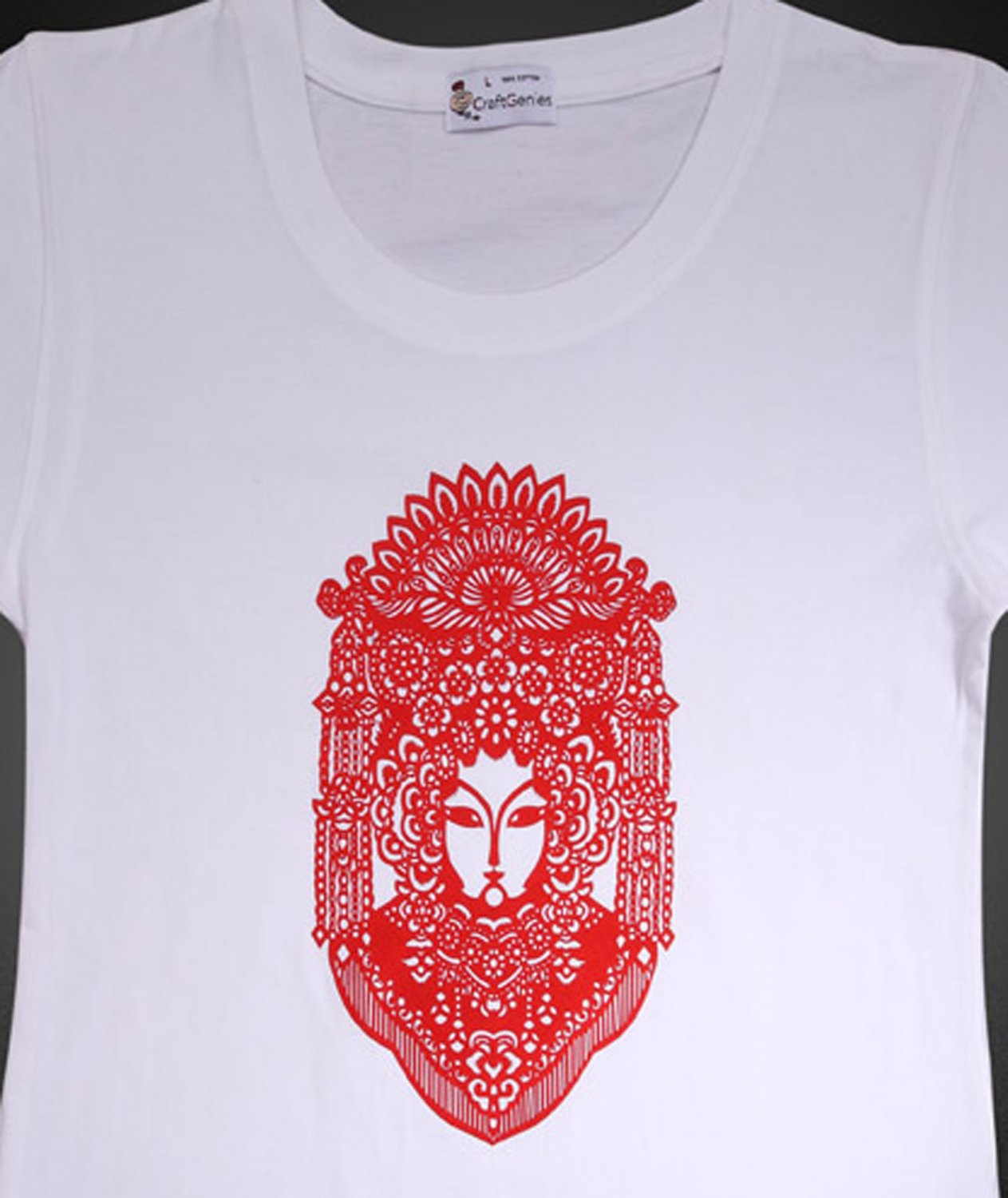 Chinese Heritage Designed T Shirt For Women - Brand New    (Women's Large)