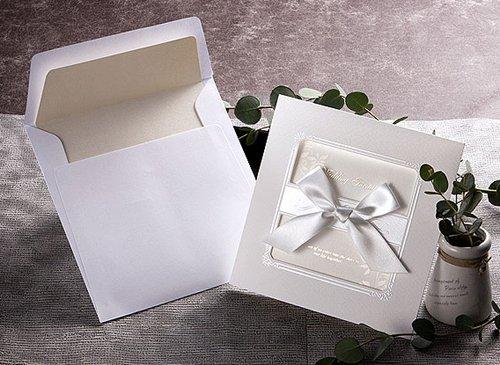 Timeless Luxury Wedding Invitation with RSVP