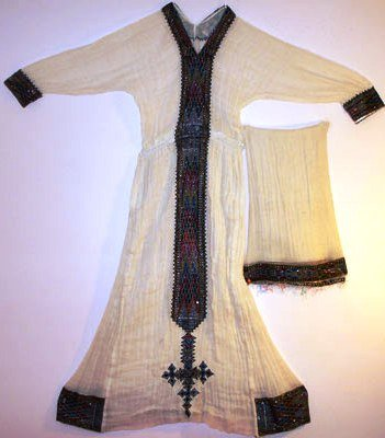 Hand made #Ethiopian, Habeshan (Ereterian) African Dress (zuriya) Free shipping world wide.
