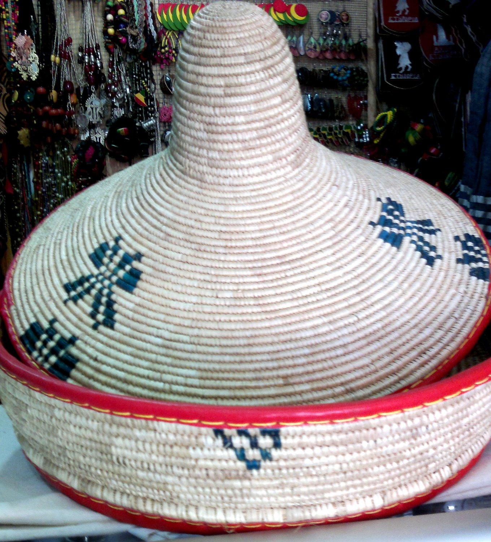 Hand Made Ethiopian Ingera Keeping craft (Lemat)