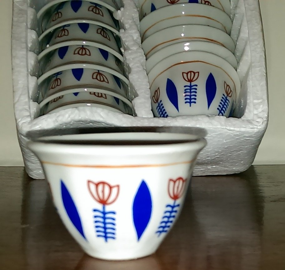 Traditional Ethiopian (Eritrean) coffee cups (Cinis) free shipping through out the world.