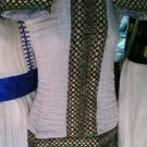 Hand Made Ethiopian (Eritrean) Habesha Dress.Free Shipping through out the world.