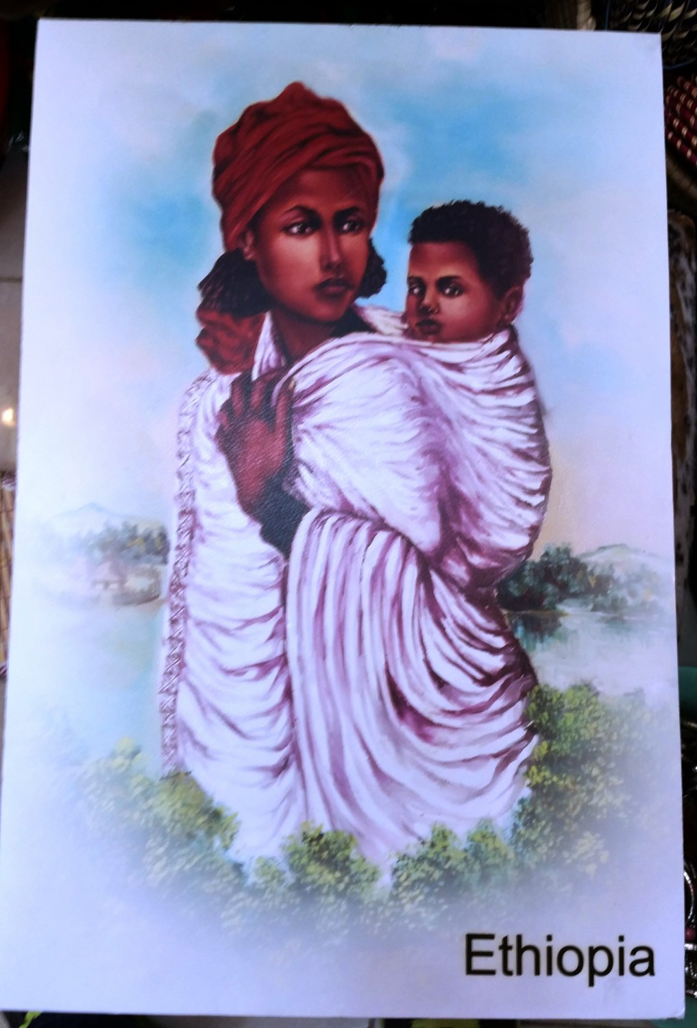 Ethiopian,Eritrean Habeshan, African Drawings and Arts Free shipping world wide  7