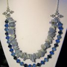Diamond-fleurette double strand