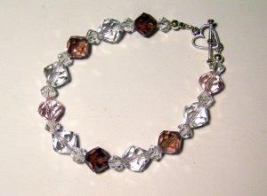 roses glass bracelet