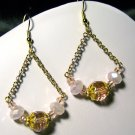 Pink Swing Earrings