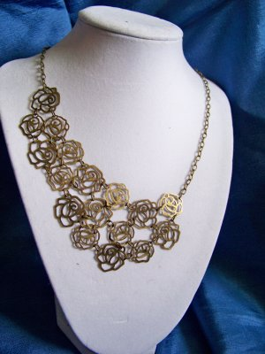 Rose Cascade necklace