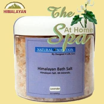Himalayan Bath Salts In Jar - Lavender