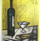 BERNARD BUFFET Signed 1964 Original Color Lithograph