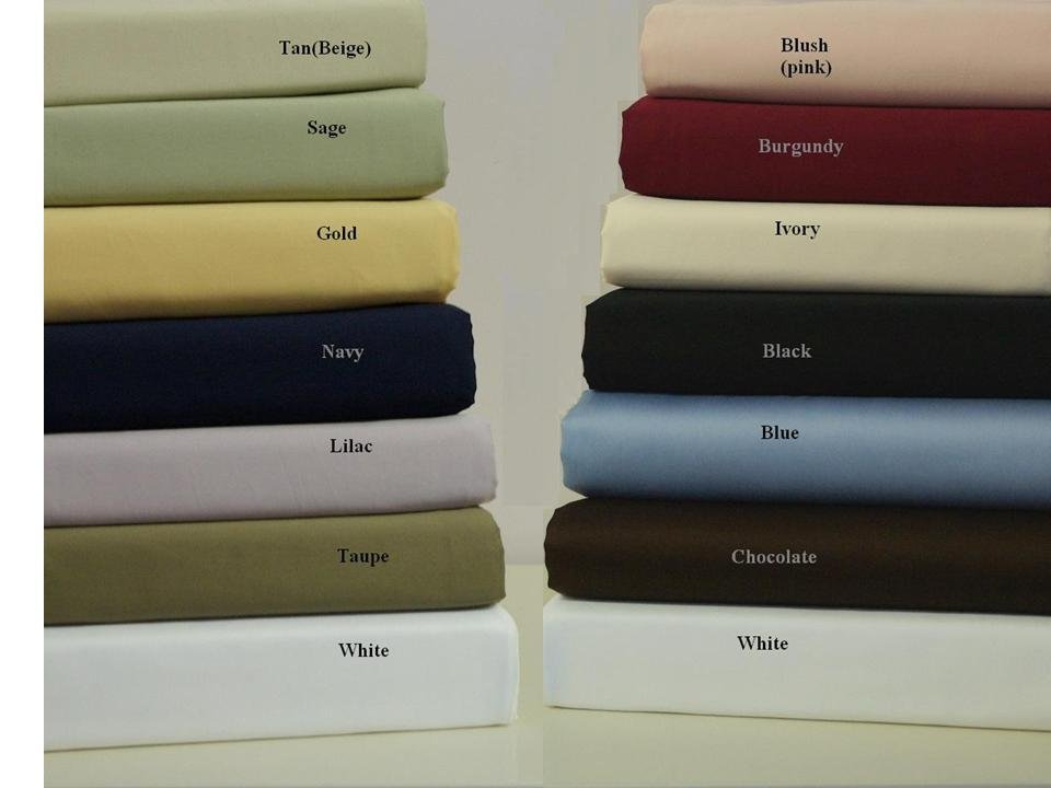 T600 CalKing Waterbed Sage-Green Solid Sheet Set (unattached)