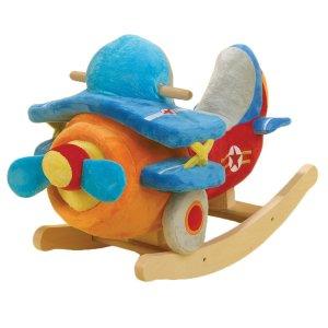 Bi-Plane Airplane Rocker
