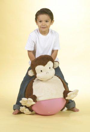 Mocha Monkey Bouncersize Buddy Ages 3-7