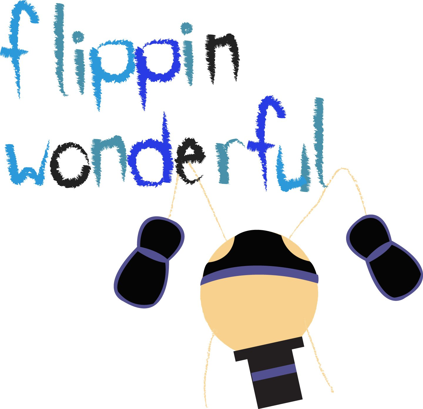 Flippin' Wonderful ... Congratulations card