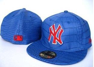 New York Yankees Leather Hat