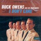 Buck Owens & His Buckaroos-I Don't Care
