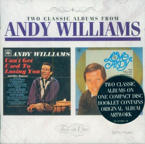 """Andy Williams-""""Can't Get Used To Losing You""""/""""Love Andy"""" (Import)"""