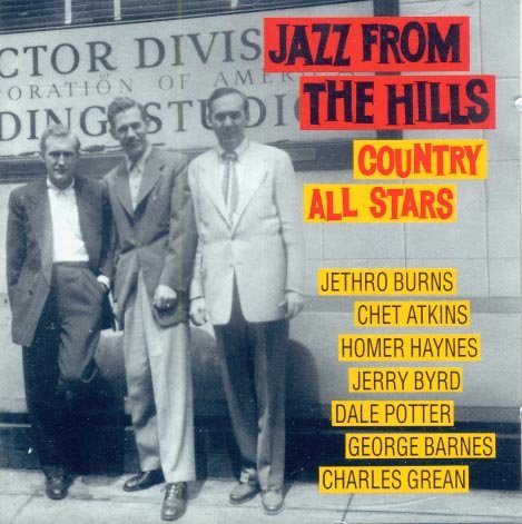 Country All Stars-Jazz From The Hills