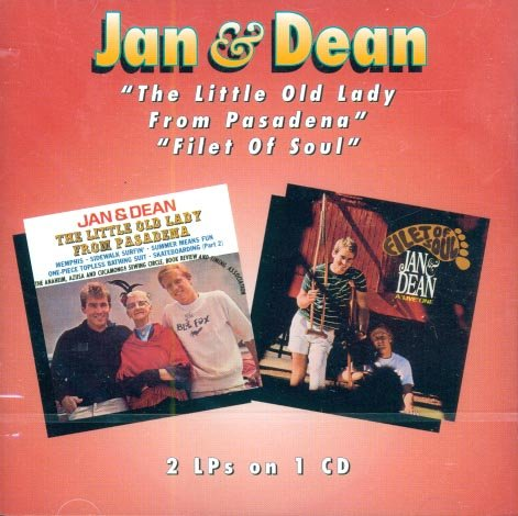 """Jan & Dean-2 On 1:  """"The Little Old Lady From Pasadena""""/""""Fillet Of Sou"""""""