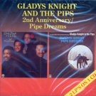 """Gladys Knight & The Pips-2 LPs On 1 CD:  """"2nd Anniversary"""" / """"Pipe Dreams"""" (Import)"""