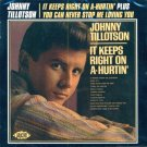 Johnny Tillotson-2 LPs On 1 CD-It Keep Right On A-Hurtin'/You Can Never Stop Me Loving You (Import)