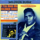 "Solomon Burke-2 LP's On 1 CD-""If You Need Me""/""Rock 'n' Soul"""