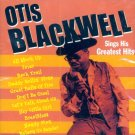 Otis Blackwell-Sings His Greatest Hits (Import)